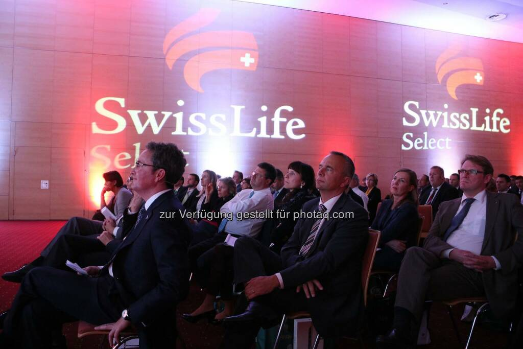 Swiss Life Select Vorträge (Bild: Pepo Schuster), © Copyright Swiss Life Select (22.09.2014)