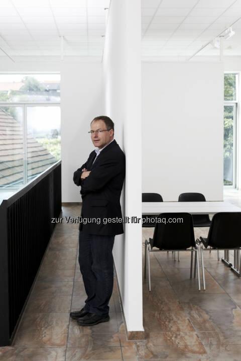 Andreas Renner, Obmann des Aluminium-Fenster-Instituts und Mitglied der Fachjury: Aluminium-Architektur-Preis 2014: Preisverleihung am 13. November im Erste-Bank-Event-Center