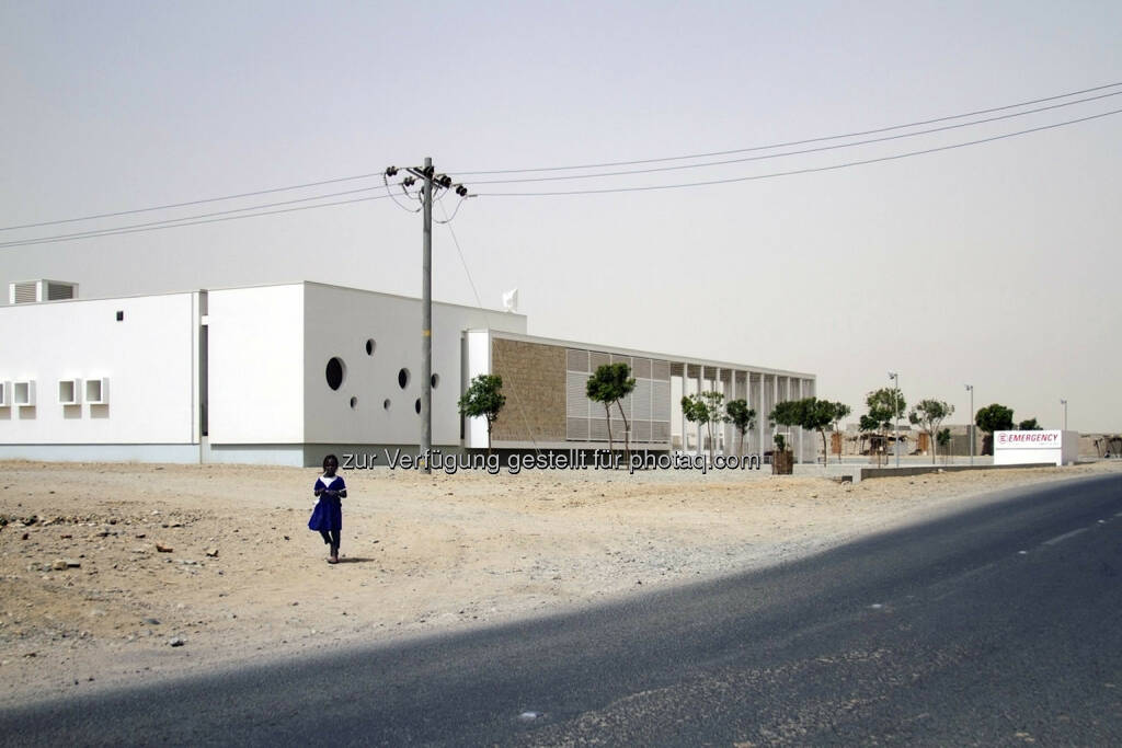 "Studio Tamassociati Architects, Venedig (IT) mit ""Port Sudan Paediatric Centre"", Siegerprojekt in der Kategorie Buildings © Courtesy of Massimo Grimaldi and Emergency ngo (23.09.2014)"