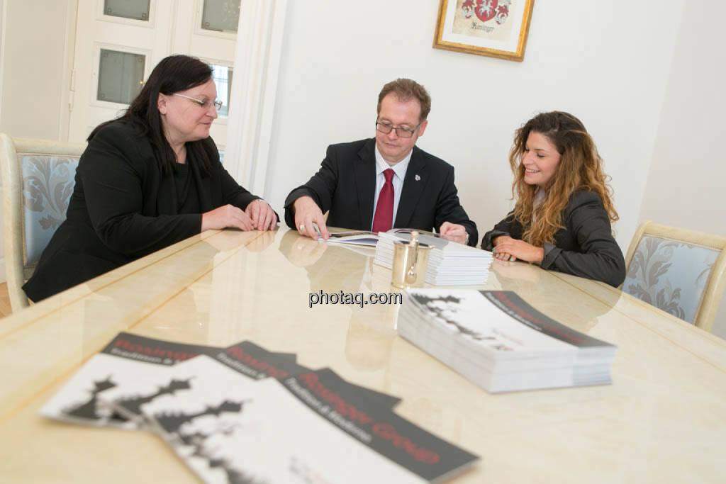 Yvette Rosinger, Gregor Rosinger, Alexandra Rosinger, © photaq/Martina Draper (23.09.2014)