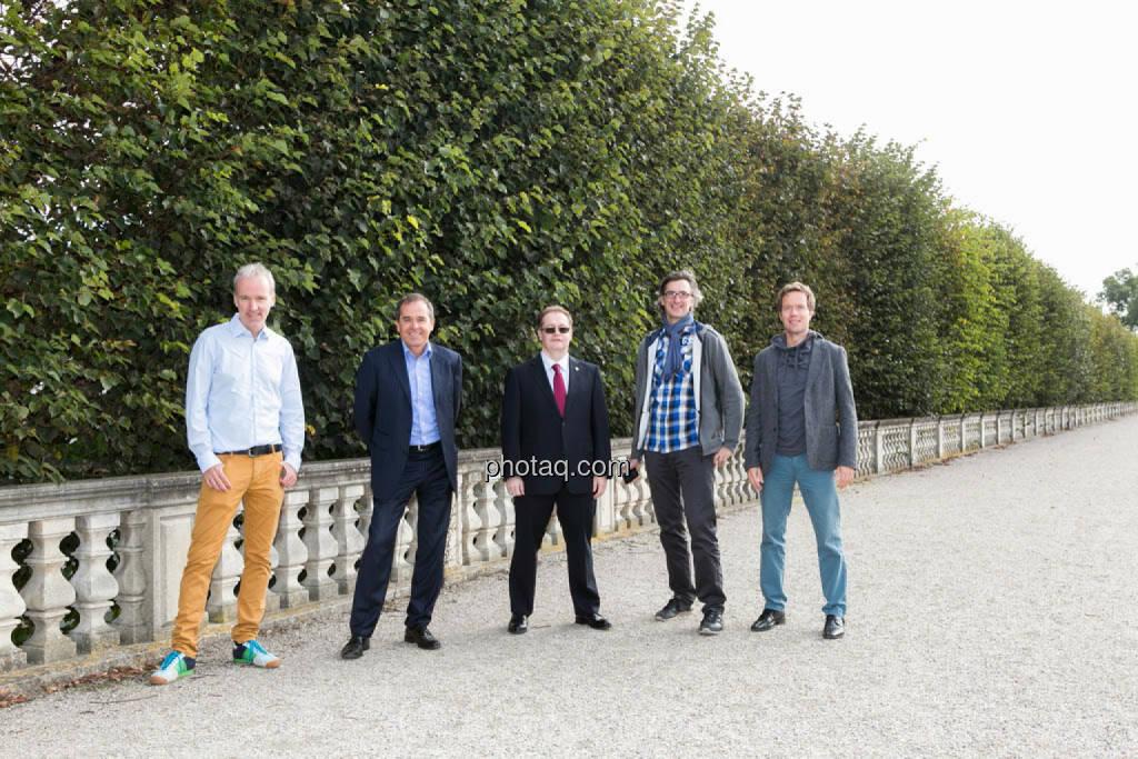 Christian Drastil, Wolfgang Matejka (Matejka & Partner), Gregor Rosinger, Josef Chladek, Martin Watzka (dasertragreich.at), © Martina Draper/photaq (23.09.2014)