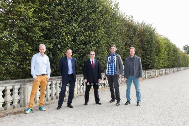 Christian Drastil, Wolfgang Matejka (Matejka & Partner), Gregor Rosinger, Josef Chladek, Martin Watzka (dasertragreich.at)