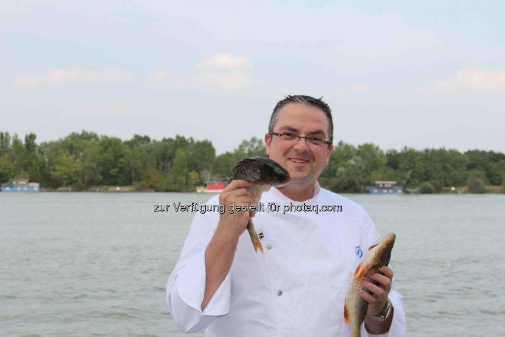 Konrad Zellner übernimmt das kulinarische Ruder im Hilton Vienna Danube Waterfront ., © Aussender (24.09.2014)