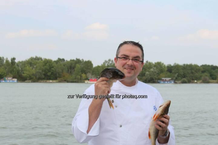Konrad Zellner übernimmt das kulinarische Ruder im Hilton Vienna Danube Waterfront .