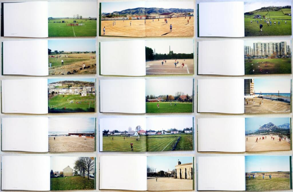 Hans van der Meer - Spielfeld Europa: Landschaften der Fußball-Amateure, Steidl, 2014, Beispielseiten, sample spreads - http://josefchladek.com/book/hans_van_der_meer_-_european_fields_the_landscape_of_lower_league_football_spielfeld_europa_landschaften_der_fussball-amateure, © (c) josefchladek.com (25.09.2014)