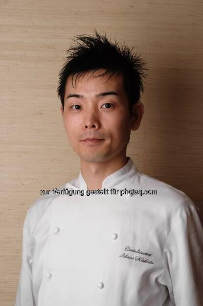 Der junge japanische Drei-Sterne-Koch Shuzo Kishida aus Tokio erhält den Eckart 2014 für Lebenskultur. Preisverleihung am 22.10. im BMW Museum., © Aussendung (25.09.2014)