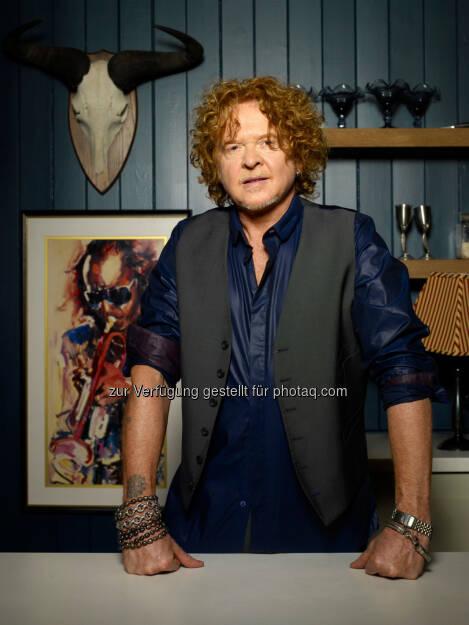 Der Sänger Mick Hucknall – früher Simply Red – erhält den Eckart 2014 für Lebenskultur. Preisverleihung am 22.10. im BMW Museum., © Aussendung (25.09.2014)