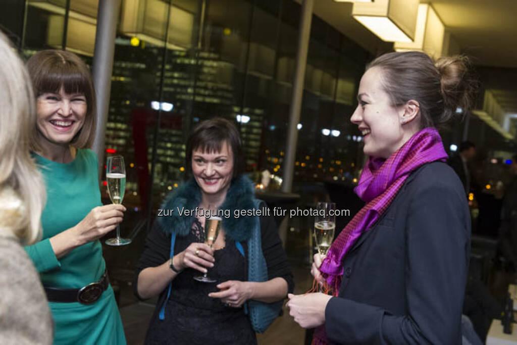 Birgit Kuras (Wiener Börse), Edith Franc (Wiener Börse), Ulrike Haidenthaller (Aktienforum), &copy; (Börse, mehr unter <a href=