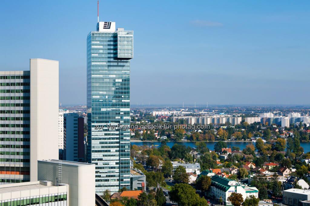 Mit Frühjahr 2015 wird die renommierte Santander Consumer Bank mit ihrer Österreich Zentrale in den IZD Tower einziehen., © Aussendung (26.09.2014)