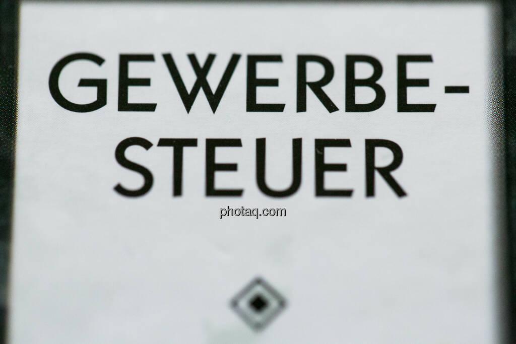 Gewerbesteuer, © photaq (26.09.2014)