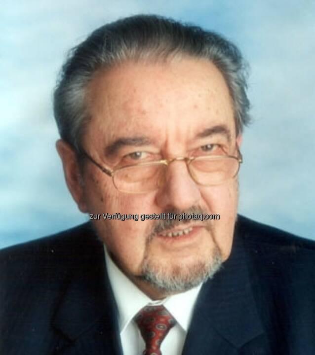 Österreichischer Seniorenrat: Ehrenpräsidenten Alfred Zupancic verstorben