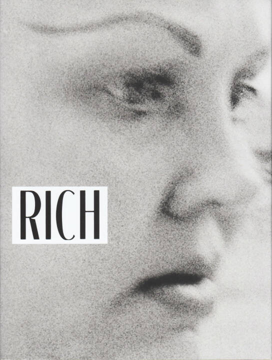 Jim Goldberg - Rich and Poor, Steidl 2014, Cover, http://josefchladek.com/book/jim_goldberg_-_rich_and_poor