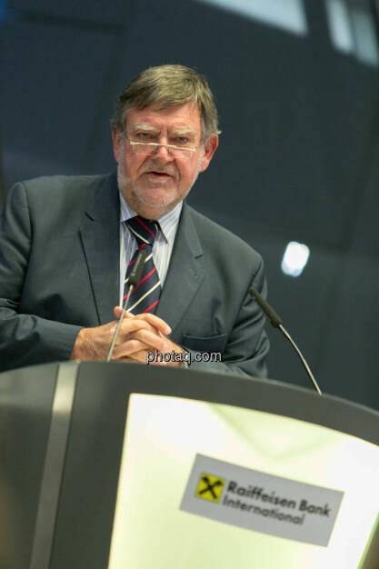 Herbert Stepic (Raiffeisen), © photaq/Martina Draper (27.09.2014)