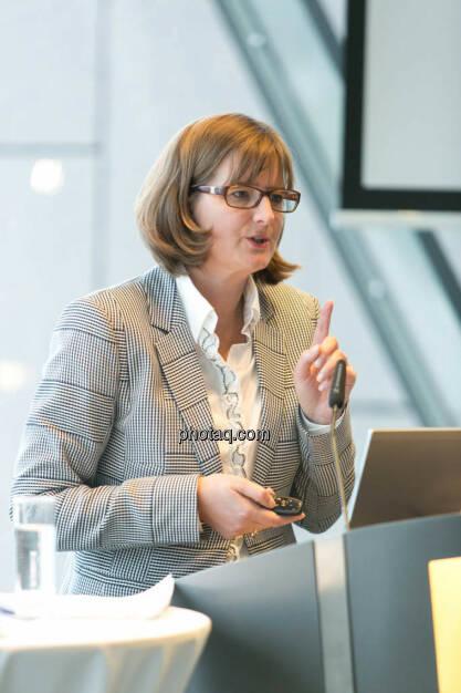 Henriette Lininger (Wiener Börse), © photaq/Martina Draper (27.09.2014)