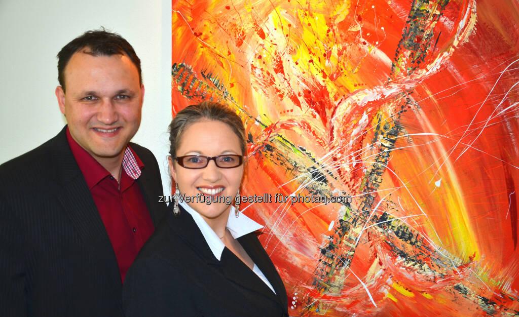 Sabine und Michael Egger von eTouristik: Buchungserfolge durch Bewertungsmarketing von eTouristik, © Aussendung checkfelix (28.09.2014)
