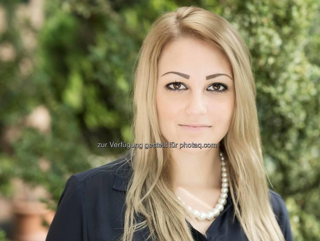 Katharina Kaindl neu bei Aigner PR. Die Schwerpunkte des Neuzugangs: Kundenberatung und Social Media, © Aussender (29.09.2014)
