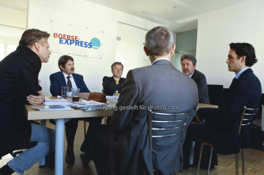 Robert Gillinger, Ernst Vejdovszky (S Immo), Eduard Zehetner, Karl Bier, Martin Rupp, © Elke Mayr (29.09.2014)