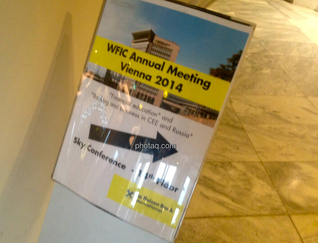 World Federation of Investors Corporations - Jahreskonferenz in Wien, © photaq/Drastil (29.09.2014)
