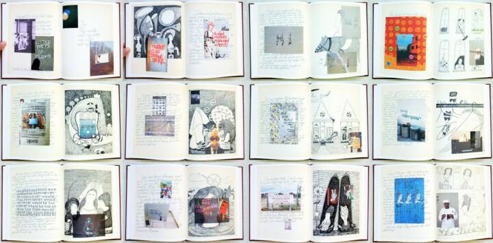 Fred Cray - Conversations, Self published 2014, Beispielseiten, sample spreads - http://josefchladek.com/book/fred_cray_-_conversations