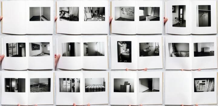 Miguel Leache - Por los días felices, Centro de Arte Contemporáneo Huarte 2013, Beispielseiten, sample spreads - http://josefchladek.com/book/miguel_leache_-_por_los_dias_felices