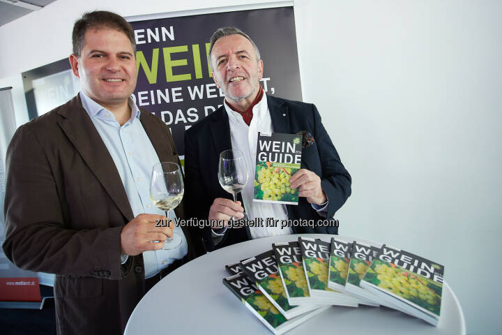 Franz Messeritsch, Diplom-Sommelier und Alexander Jakabb, Redaktion Wein Guide Österreich Weiss 2014: medianet Verlag AG: Wein Guide Weiss 2014