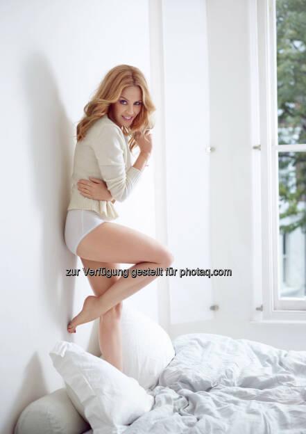 sloggi: Kylie Minogue ist das neue Gesicht für sloggi, © Aussender (30.09.2014)