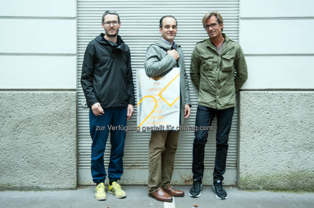 Andreas Kristof (section.a.), Max Haupt-Stummer & Robert Jasensky (section.d): Parabol Artmagazine: Peter Weibel kuratiert Parabol Art Magazine #8, © Aussendung (30.09.2014)