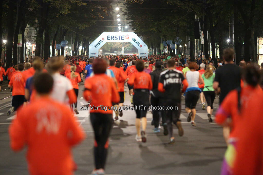 erste bank vienna night run 2014, © erste bank vienna night run/Ludwig Schedl (01.10.2014)