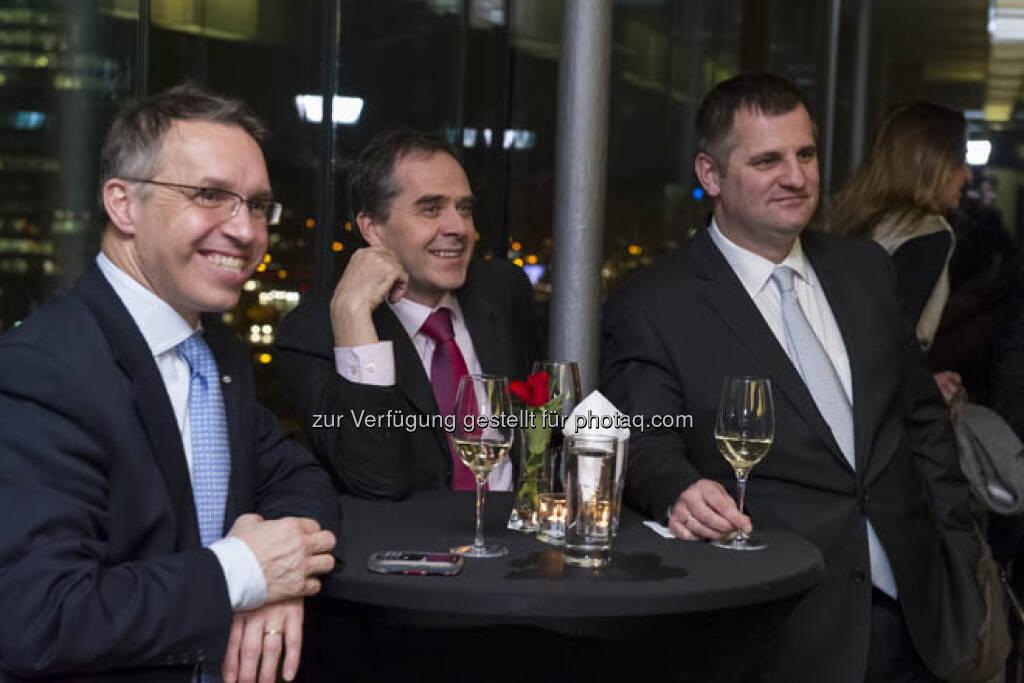 Alfred Reisenberger, Wolfgang Matejka, Eduard Berger, &copy; (Börse, mehr unter <a href=