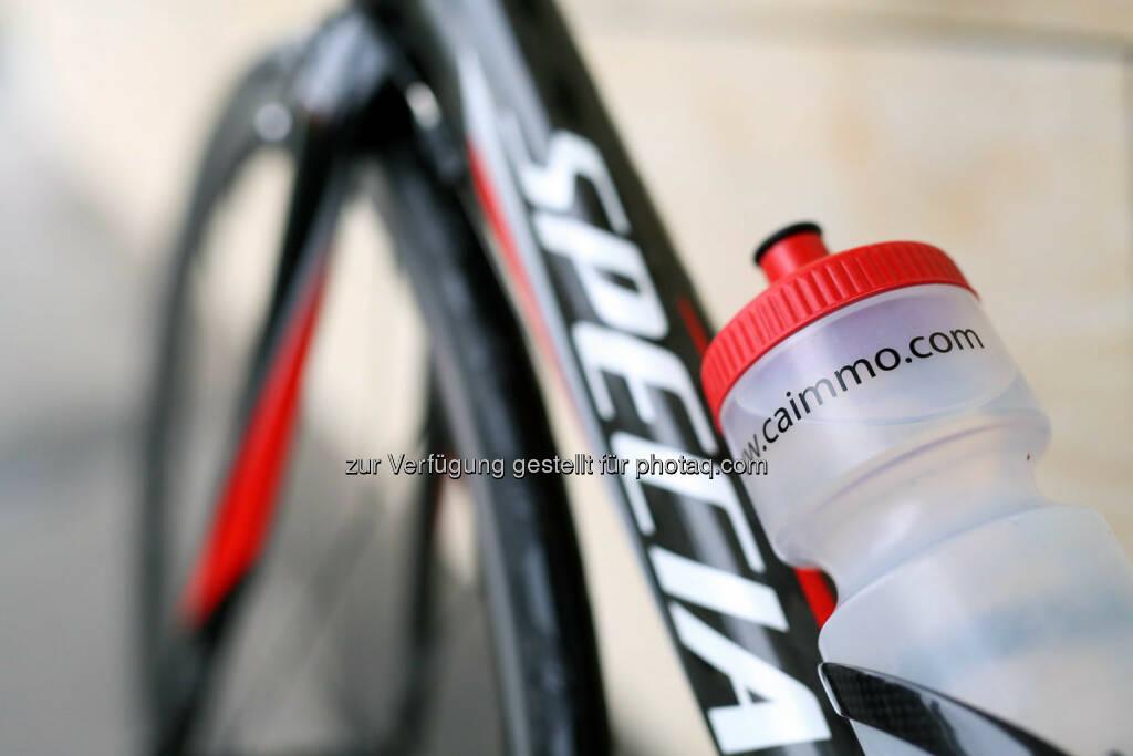 CA Immo, Trinkflasche, Rad, © CA Immo/APA-Fotoservice/Schedl (01.10.2014)