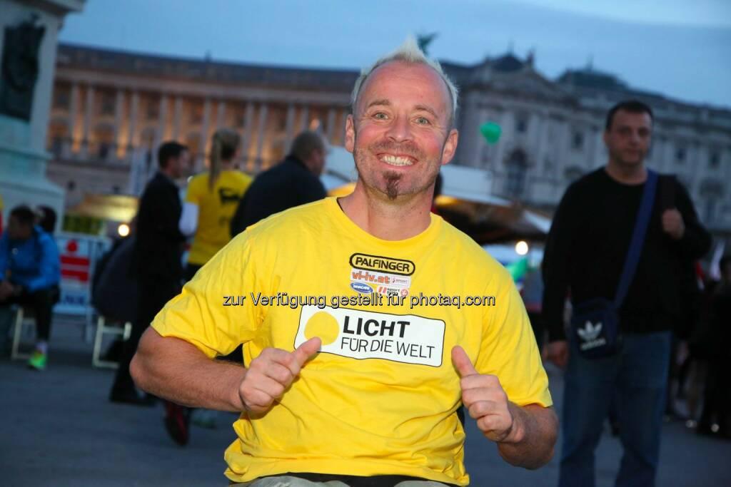 Paralympics-Rennrollstuhlfahrer Thomas Geierspichler, © leisure/Ludwig Schedl (02.10.2014)