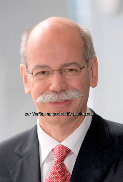 Dieter Zetsche, Vorsitzender des Vorstands der Daimler AG und Leiter Mercedes-Benz Cars erhält Eurostar von Automotive News Europe., © Aussendung (02.10.2014)