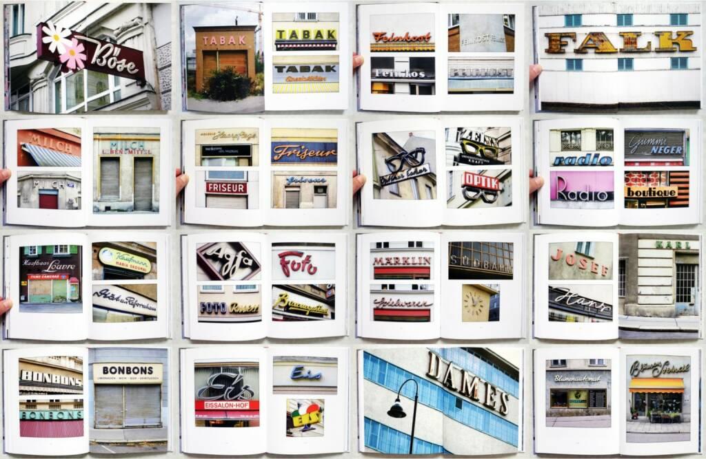 Volker Plass - Stadtschriften: Was über Geschäften einst geschrieben stand, Metroverlag 2014, Beispielseiten, sample spreads - http://josefchladek.com/book/volker_plass_-_stadtschriften_was_uber_geschaften_einst_geschrieben_stand, © (c) josefchladek.com (03.10.2014)