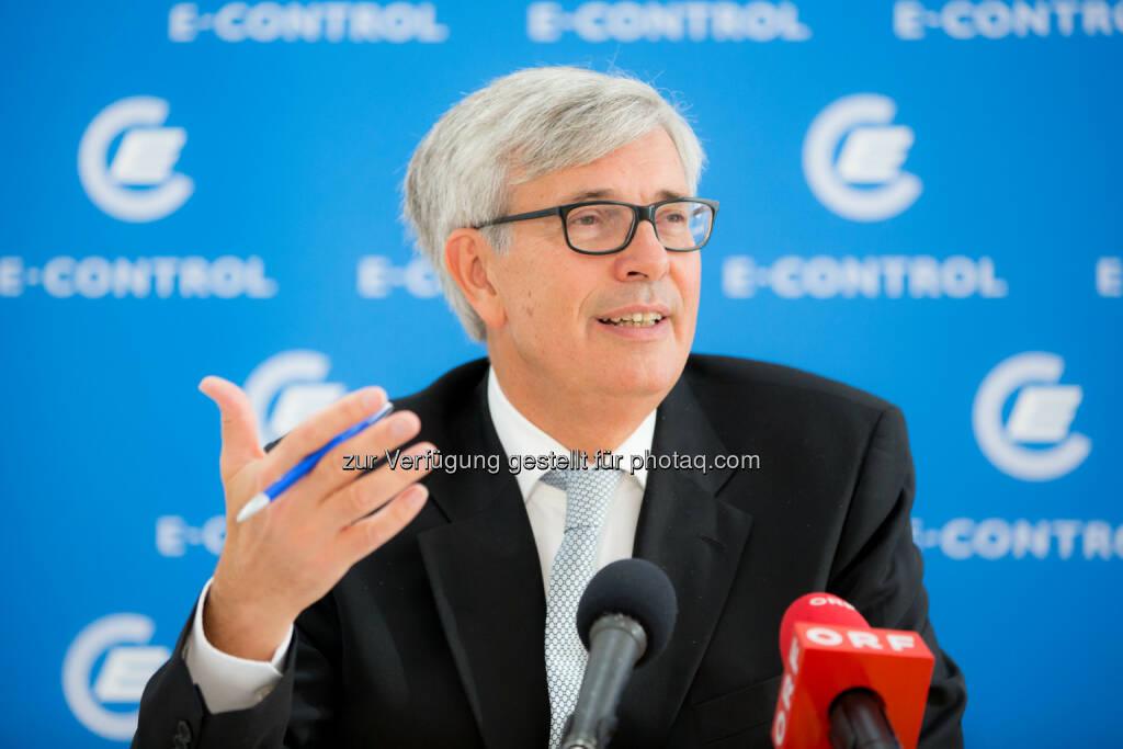 E-Control-Vorstand Walter Boltz: Energie-Control Austria: Wettbewerb am Energiemarkt zugenommen, aber weiter schwach, © Aussendung (03.10.2014)