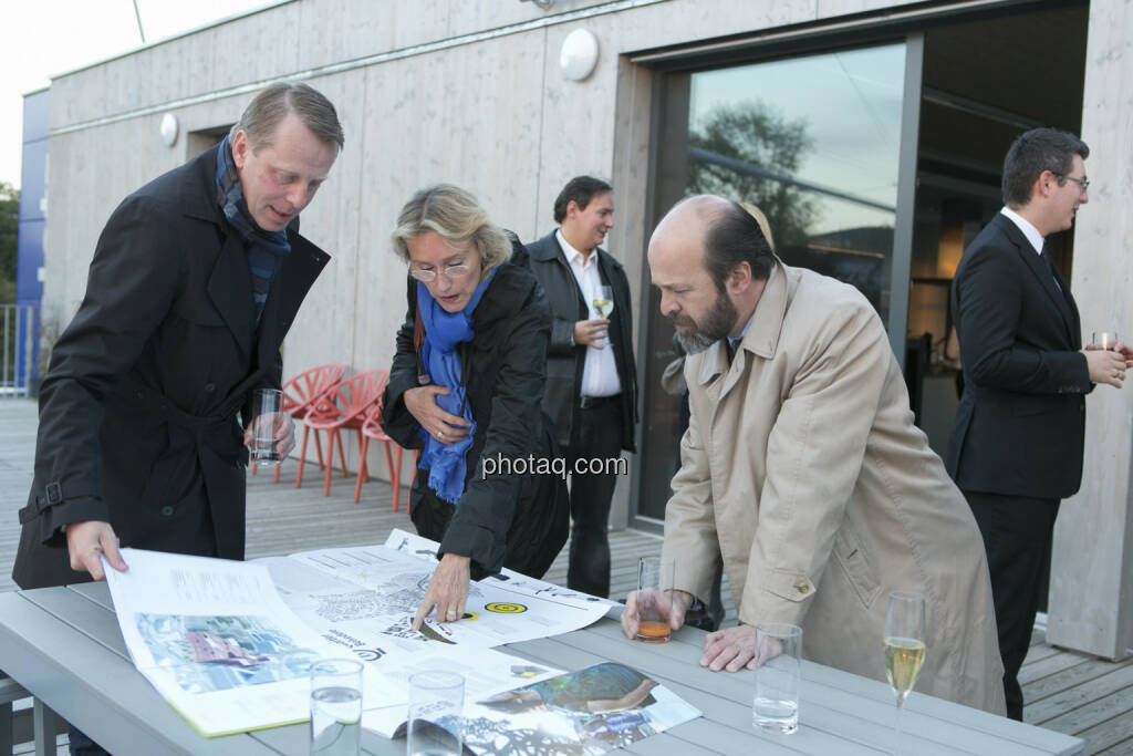 Friedrich Wachernig (S Immo, links), © Martina Draper (15.12.2012)
