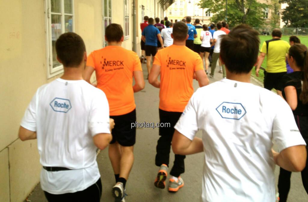 Roche auf der Jagd nach Merck (04.10.2014)