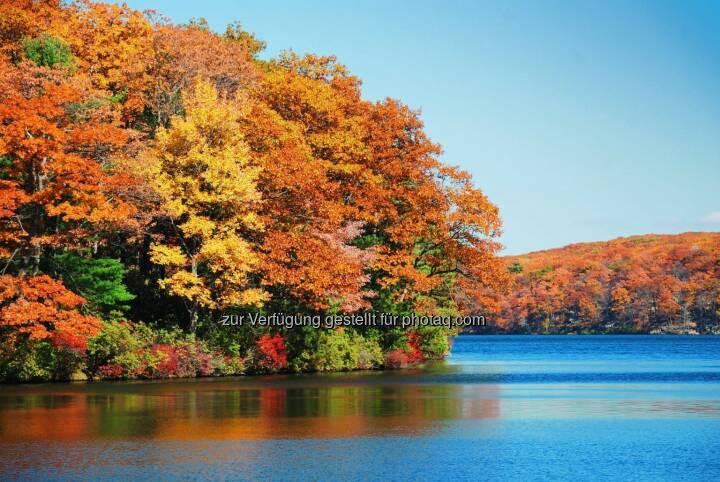 Herbst Wasser