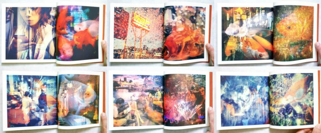 Michiko Makino - Tokyo Kingyo 東京金魚, Self published 2014, Beispielseiten, sample spreads - http://josefchladek.com/book/michiko_makino_-_tokyo_kingyo_東京金魚, © (c) josefchladek.com (06.10.2014)