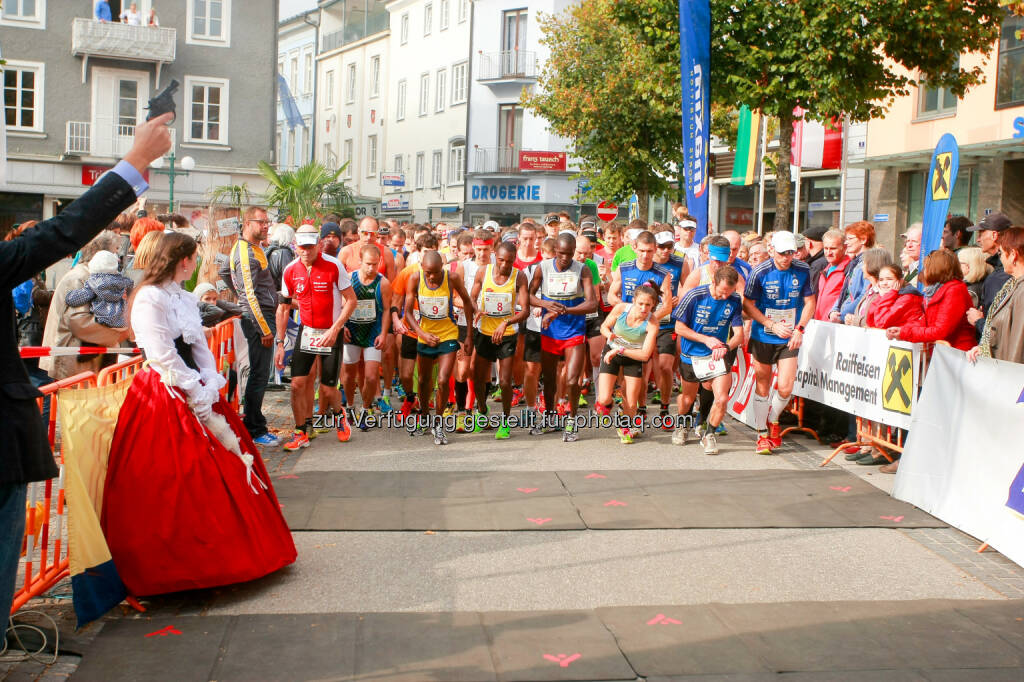 Kaiserlauf 2014, Start, © Christian Fuchs (06.10.2014)