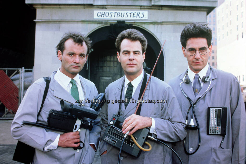 Bill Murray, Dan Aykroyd, Harold Ramis: Cineplexx Kinobetriebe GmbH: Cineplexx bringt Kultfilm Ghostbusters zurück auf die Kinoleinwand, © Aussendung (06.10.2014)
