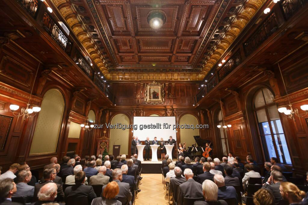 Österreichischer Verband für Elektrotechnik OVE: ÖIAV und OVE: Das Haus der Ingenieure erstrahlt im neuen Glanz, © Aussendung (06.10.2014)