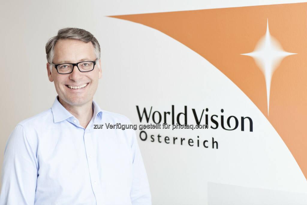 Sebastian Corti - neuer Geschäftsführer World Vision Österreich, © Aussender (07.10.2014)