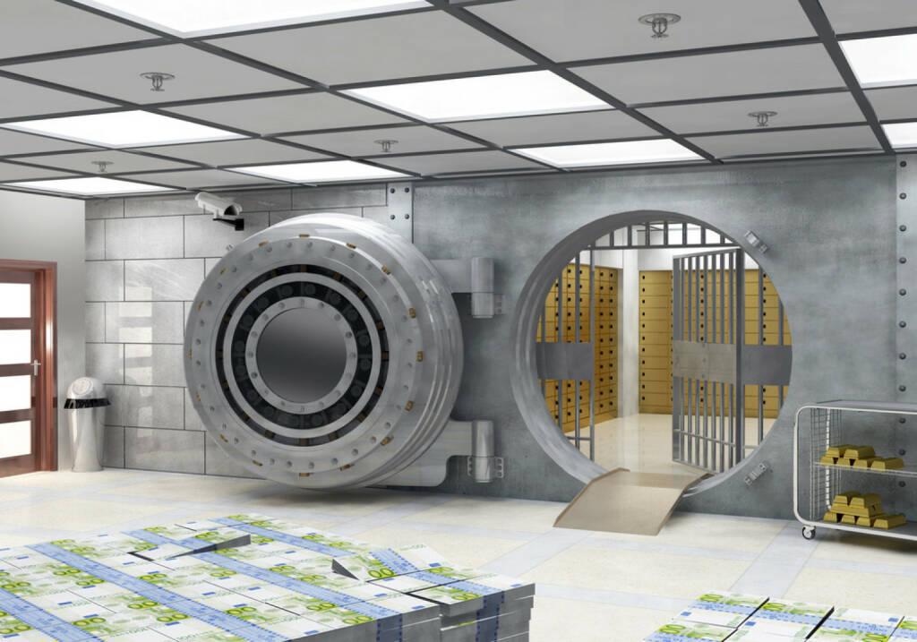 Bank, Tresor, Tresorraum, Sicherheit, Safe, versperren, http://www.shutterstock.com/de/pic-165299627/stock-photo-the-vault.html (07.10.2014)