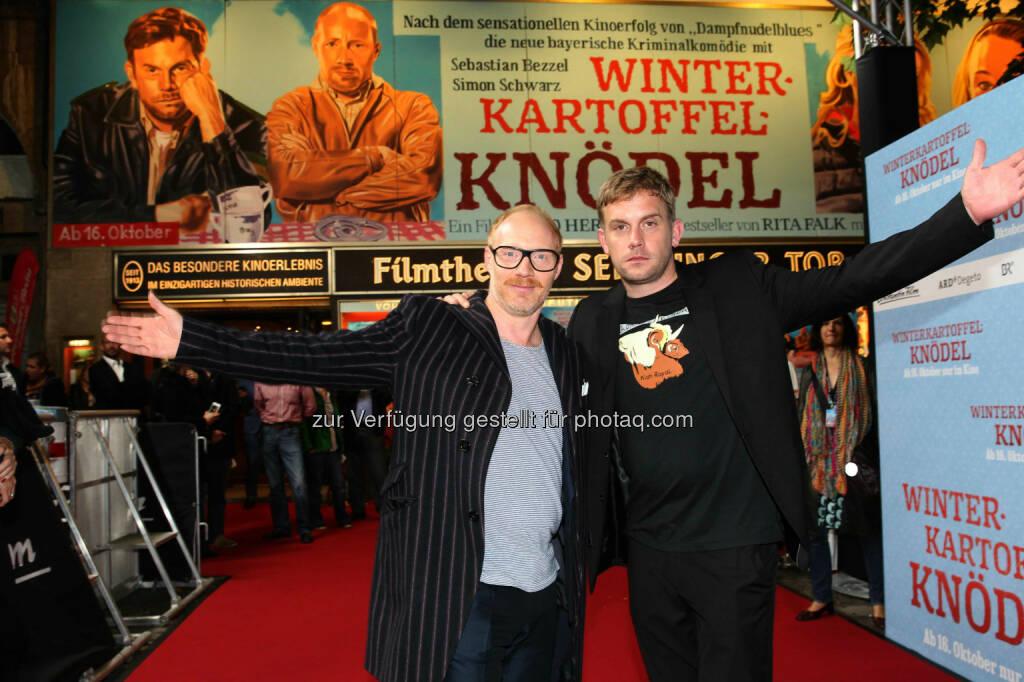 Simon Schwarz, Sebastian Bezzel: Constantin Film: Winterkartoffelknödel, © Aussendung (08.10.2014)