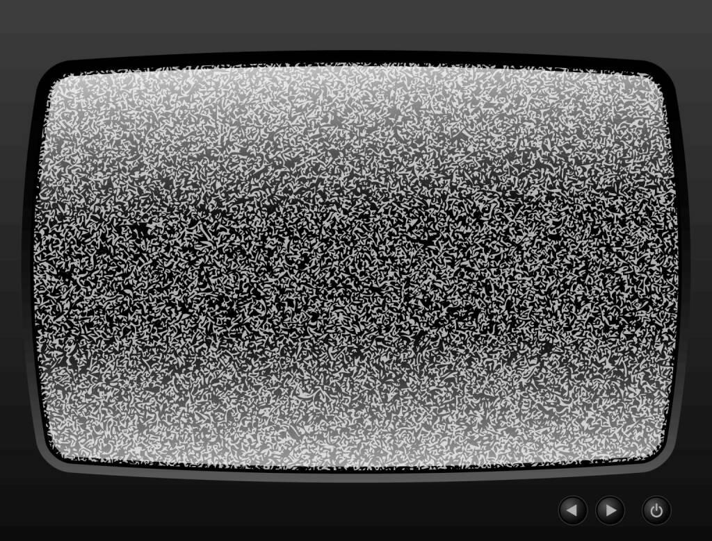 Fernseher, rauschen, TV, TV-Gerät, Störung, http://www.shutterstock.com/de/pic-113904187/stock-vector-old-television-with-grain-closeup.html, © www.shutterstock.com (22.07.2018)