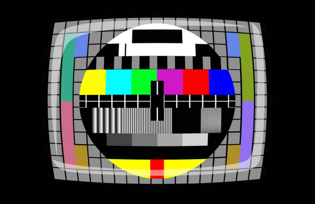Fernseher, Testbild, TV, TV-Gerät, http://www.shutterstock.com/de/pic-173883941/stock-photo-tv-color-test-pattern-test-card.html, © www.shutterstock.com (21.06.2018)
