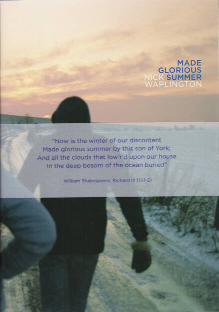Nick Waplington - Made Glorious Summer, Powershovel 2014, Cover - http://josefchladek.com/book/nick_waplington_-_made_glorious_summer, © (c) josefchladek.com (13.10.2014)