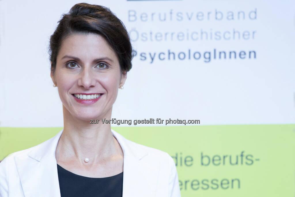 Michaela Langer neue  Generalsekretärin des Berufsverbandes Österreichischer PsychologInnen , © Aussender (13.10.2014)