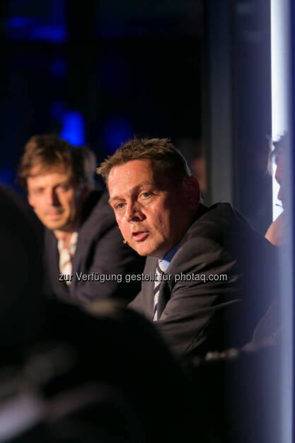Rupert Weber, Geschäftsführender Vorstand von Menschen für Menschen Österreich, http://blog.immofinanz.com/de/2014/10/15/talk-im-tower-afrika-fass-ohne-boden-oder-entwicklungsraum-mit-potenzial-/, © Martina Draper für Immofinanz (14.10.2014)