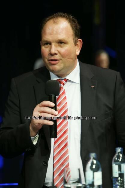 Marc Deimling, Geschäftsführer TMS Turnkey Manufacturing Solutions GmbH, © RLB OÖ/Strobl  (14.10.2014)